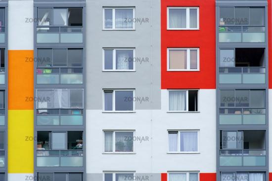 Window multi-storey residential building