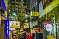 Shinjuku Golden Gai Area Night Scene, Tokyo, Japan