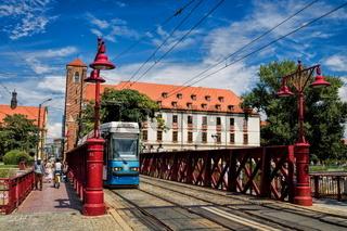 Wroclaw, Brücke zur Dominsel