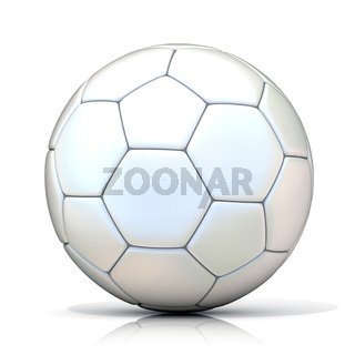 White football - soccer ball