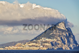 The Rock Of Gibraltar, British Crown Colony