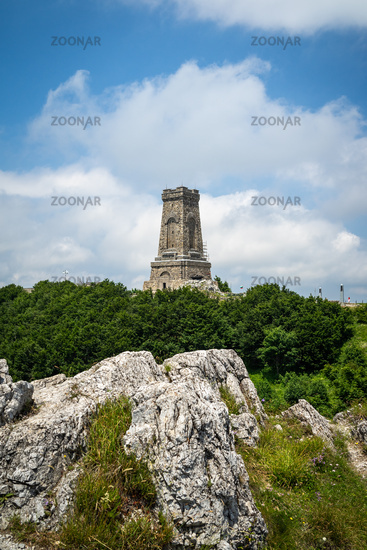 Shipka Monument on Stoletov Peak - Liberation of Bulgaria during the Battles of Shipka Pass