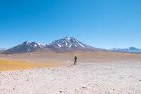Cile Atacama desert and volcanoes