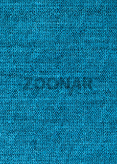 interlacing threads in wool jersey knitted fabric