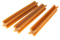 tendon sticks for dog isolated
