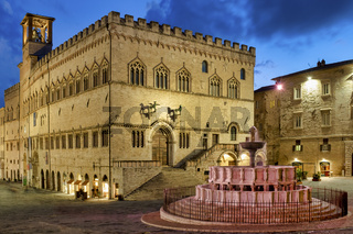 Palazzo dei Priori and the Fontana Maggiore