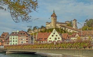 Festung Munot und Altstadt Schaffhausen, Schweiz