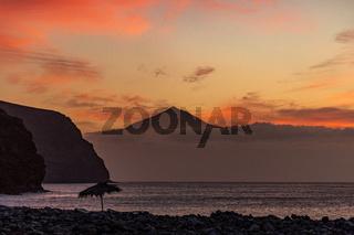 La Gomera, Sonnenaufgang, Canary Islands, Spain