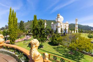 Colombia Bogota Jaime Duque Park luxuriant gardens