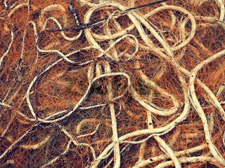 Fishing net close up