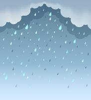 Rainy weather theme background 1