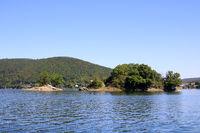 Love Island in Lake Edersee
