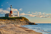 Montauk Lighthouse and beach