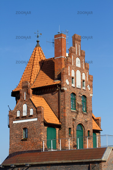 Port authority in Stralsund 003. Germany