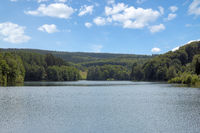 Versetalsperre Reservoir in Sauerland,North Rhine westphalia,Germany