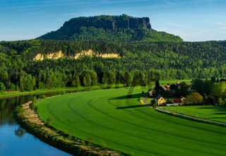 Lilienstein im Elbsandsteingebirge