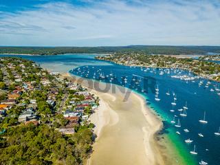 Gunnamatta Bay water and beach views