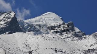 Baden Powell Peak, also named Urkema Peak. Langtang National Park, Nepal.