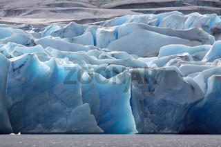 Gletscher Südamerika