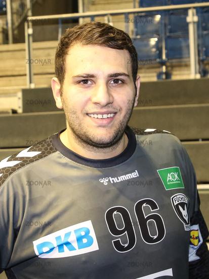 Handball Goalkeeper Dejan Milosavljev (Füchse Berlin)