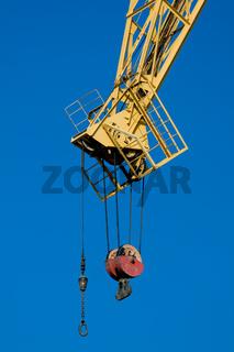 Grúa en el puerto -  Crane in the port