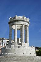 War memorial, Passetto, Ancona, Italy, Europe