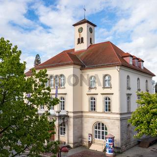Sindelfingen, Baden Wurttemberg/Germany - May 11, 2019: View on City Gallery building, Stadtgalerie.