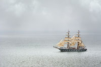 Two Masted Sailing Ship