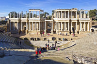 Roman theatre in Merida