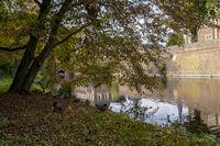 Herbst am Wasserschloss Ahaus
