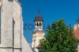 Reunification Cathedral inside the Citadel Alba-Carolina in Alba Iulia, Romania