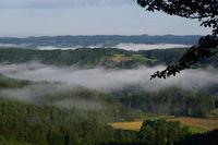 Hohenstein Castle and Village, Hersbrucker Schweiz, Franconia, Bavaria