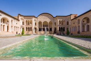 Tabatabaei House in Kashan, Iran.
