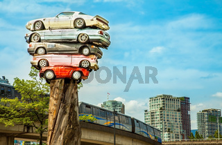Scrap cars in Vancouver Canada