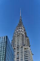 The Chrysler Building in New York City