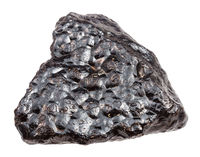 Hematite (Kidney Ore) stone isolated on white