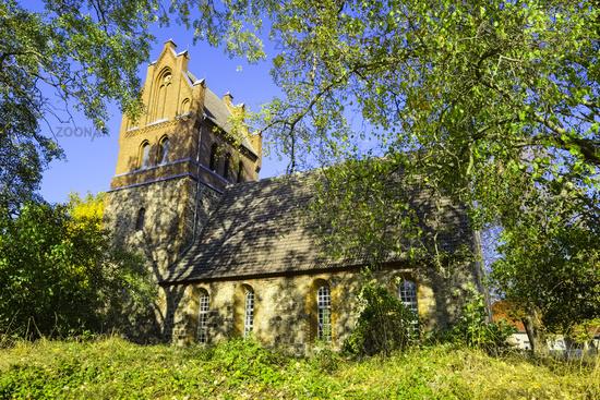 Church Gruental (Sydower Fliess), Brandenburg, Germany