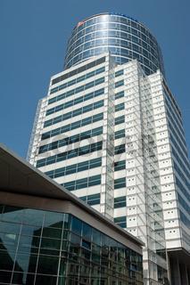 Wien, Oesterreich, Galaxy Towers Buerohochhaus am Nestroyplatz in der Leopoldstadt