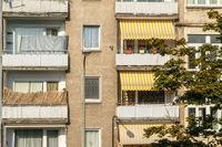 Facade of a residential house