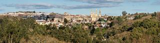 Santiago de Compostela wide panorama