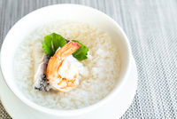 Seafood boiled rice