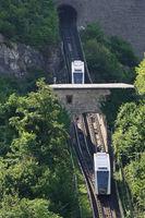 Salzburg - Festungsbahn,  funicular railway, Austria