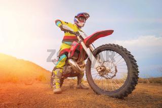 Amazing Motocross rider