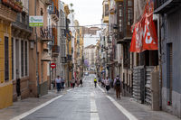 Charming Streets of Malaga, Spain