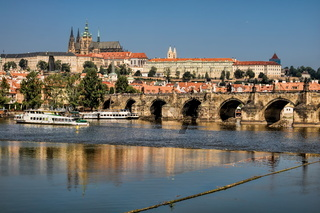 Prag, Moldau