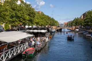 Christianshavn District in Copenhagen, Denmark