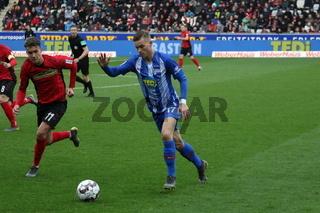 1. BL: 18-19: 25. Sptg. -  SC Freiburg vs. Hertha BSC Berlin