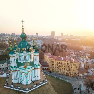 Andrew's Church on Andrew Descent in Kiev