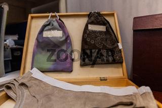 Fashion design underwear and bags