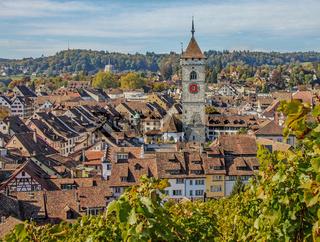 Stadt und St. Johann Schaffhausen, Schweiz
